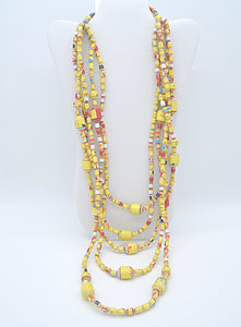 Elizabeth Necklace (Yellow)