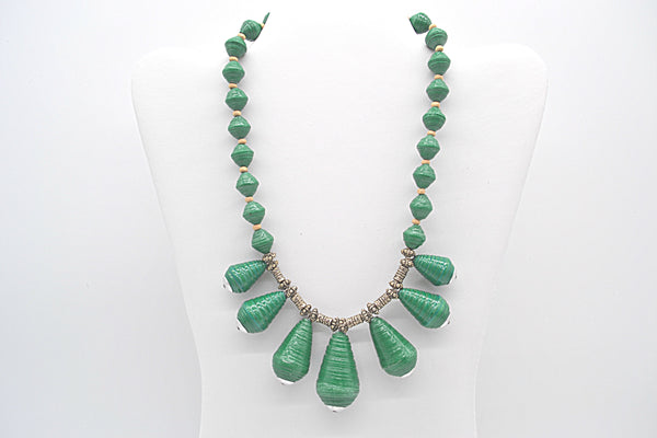 Jhankse Necklace (Green)
