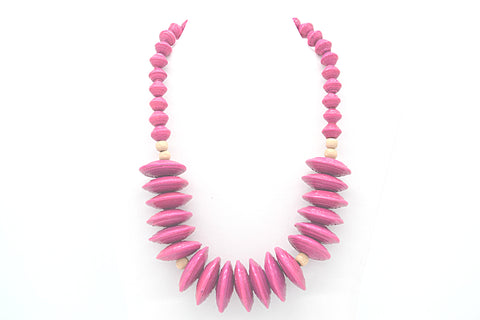 Rea Necklace (Pink)