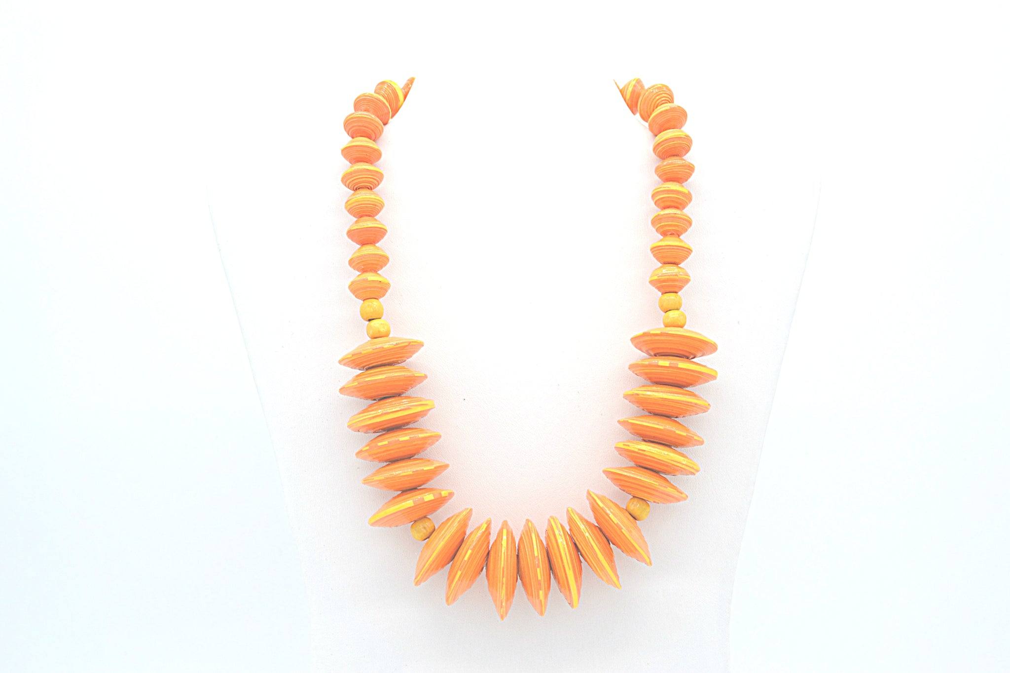 Rea Necklace (Orange)