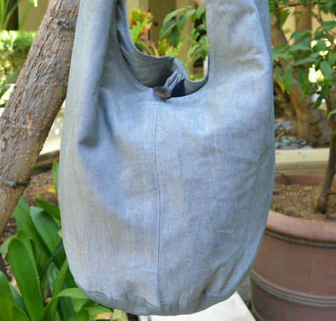 Sack Sling Bag (Gray)