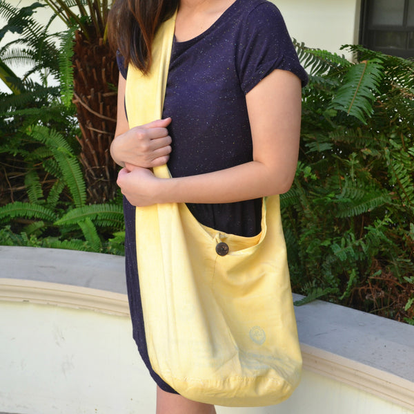 Sack Sling Bag (Yellow)