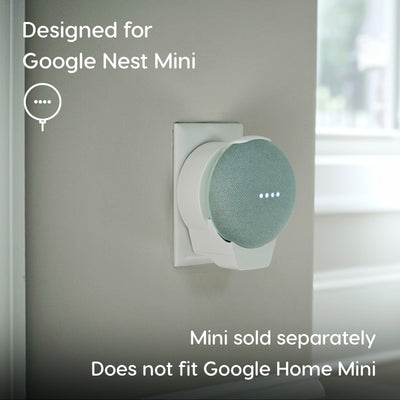 doqxD Wall Outlet Mount for Google Nest Mini 2nd Generation
