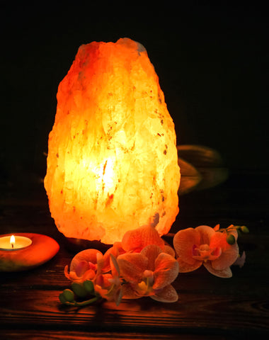 How do I know if salt lamp is real