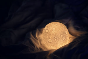 3D moon lamp size small