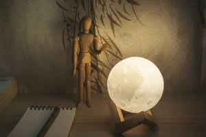 Lunar moon lamp UK size L