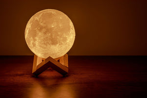 Levitating moon lamp XL