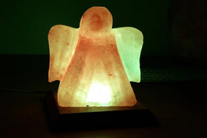 White Himalayan Angel lamp