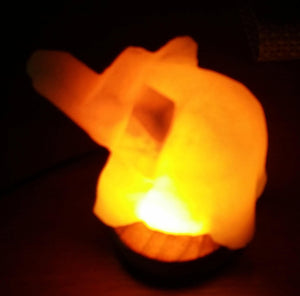 Elephant salt lamps