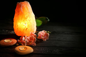 Salt rock lamp 5-7 kg