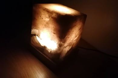 Cube Grey Himalayan salt lamps