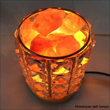 Load image into Gallery viewer, Framed Himalayan Salt Lamp