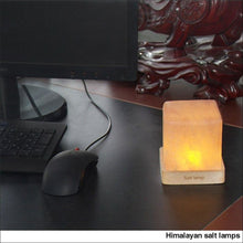 Load image into Gallery viewer, Himalayan Salt Lamp Cube