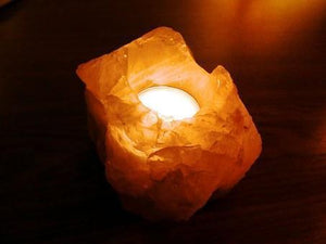 Himalayan salt lamp 4 pack candle holder - Himalayan salt lamps