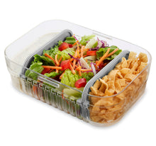 Load image into Gallery viewer, Mod Lunch Bento Container - Grey