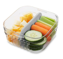 Load image into Gallery viewer, Mod Snack Bento Container - Grey