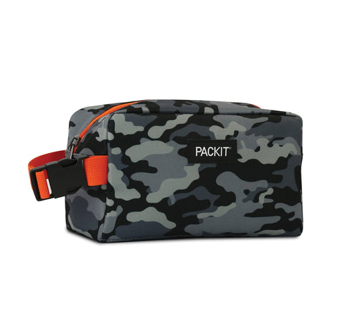 Freezable Snack Box Bag - Charcoal Camo