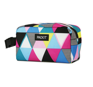 Freezable Snack Box Bag - Triangle Stripe