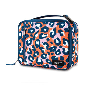 2020 Freezable Classic Lunchbox Bag - Wild Leopard Orange