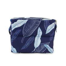Load image into Gallery viewer, Everyday Lunch Box - Navy Leaves