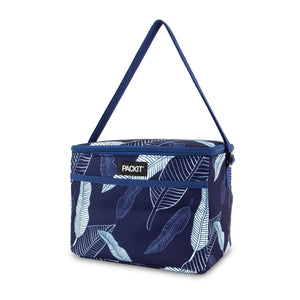 Everyday Lunch Box - Navy Leaves