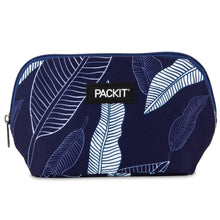 Load image into Gallery viewer, 2020 Freezable Snack Bag - Navy Leaves