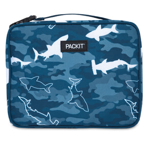 Freezable Classic Lunchbox Bag - Camo Sharks *NEW*
