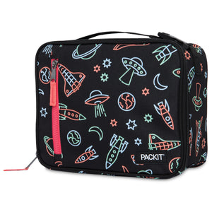 Freezable Classic Lunchbox Bag - Neon Space *NEW*