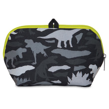 Load image into Gallery viewer, Freezable Snack Bag - Dino Camo Charcoal *NEW*