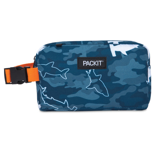 Freezable Snack Box Bag - Camo Sharks *NEW*