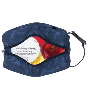 Freezable Snack Box Bag - Heather Leopard Navy *NEW*