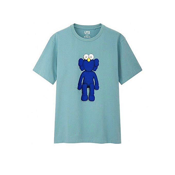 Uniqlo x Kaws Graphic Tee - Blue BFF