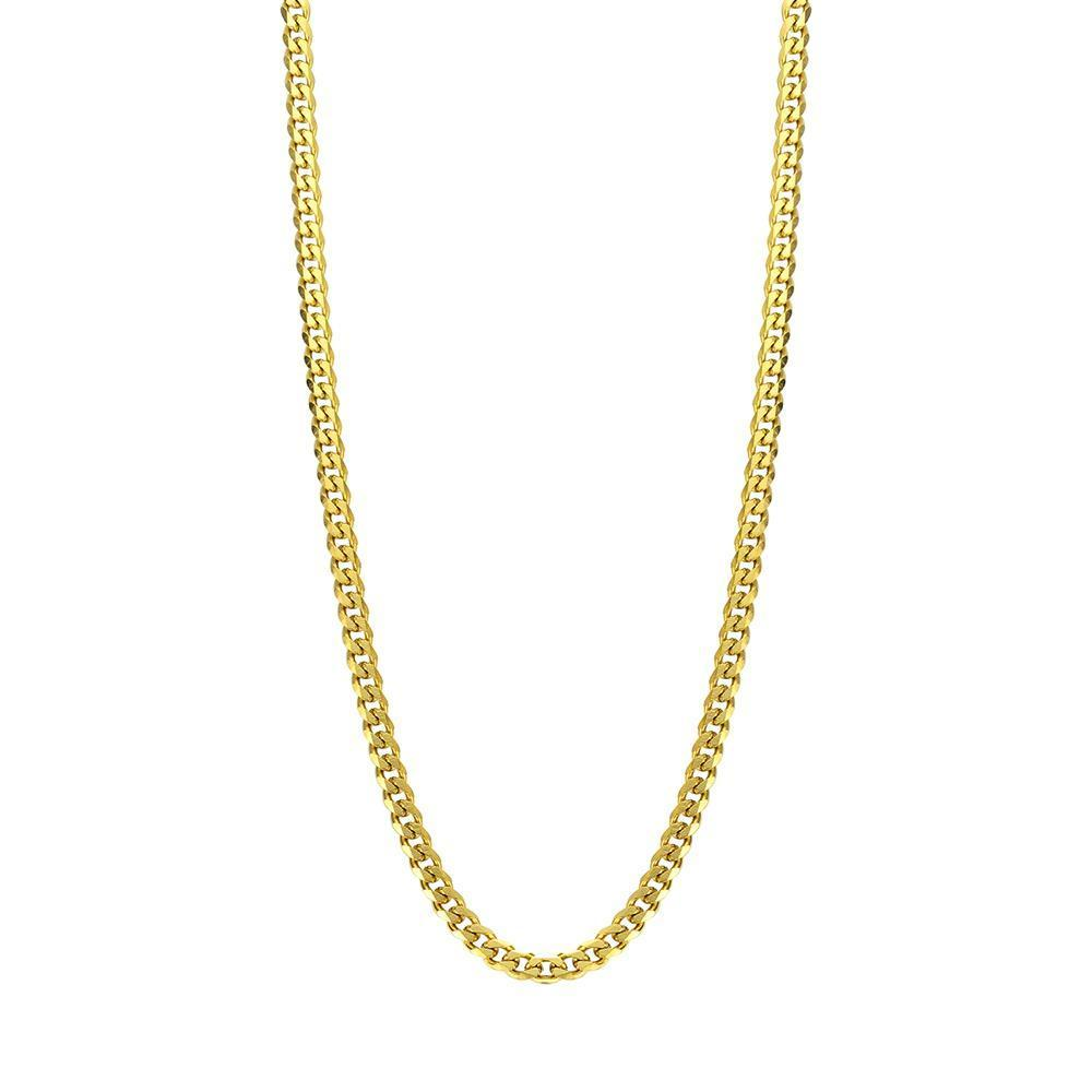 Mister Facet Curb Chain Gold - 24""