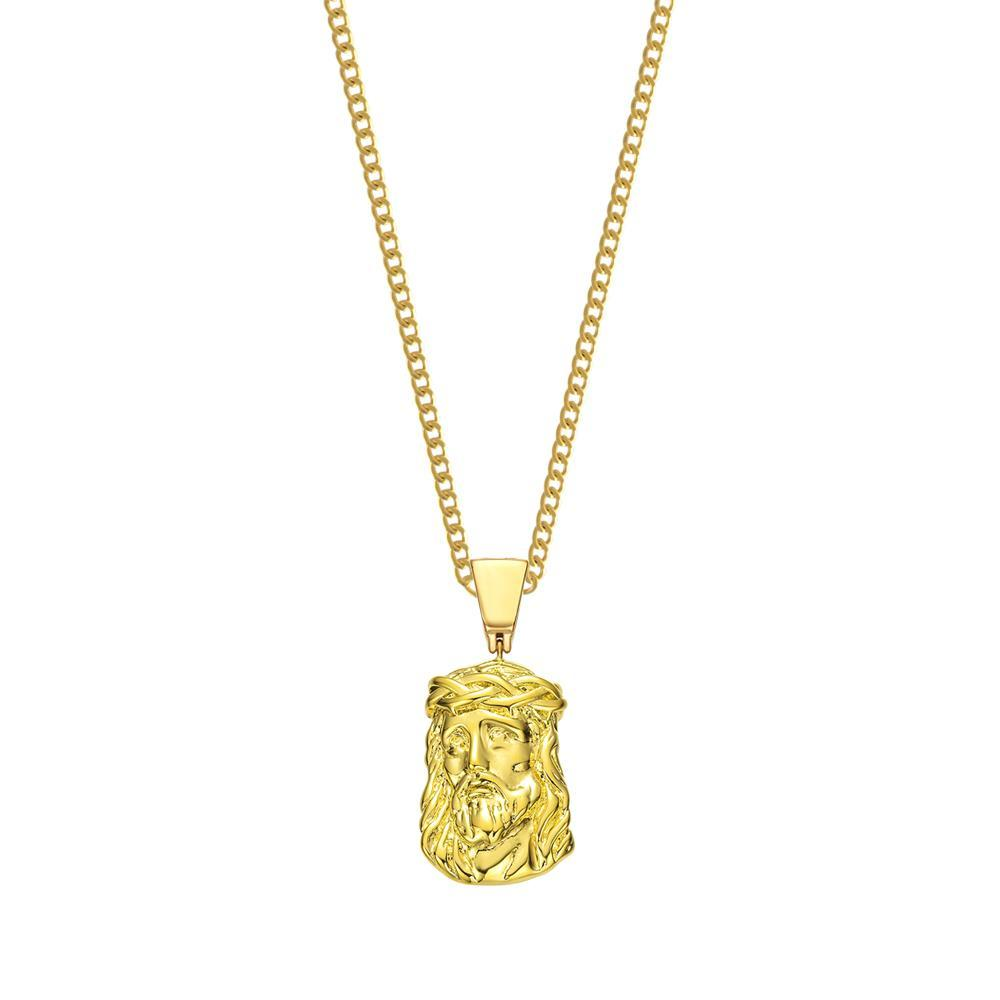 Mister Savior Necklace Gold - 24""
