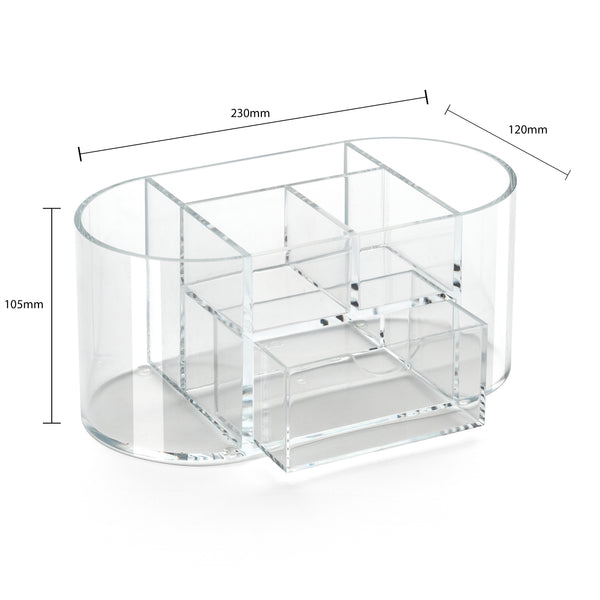 Osco Acrylic Organiser With Drawer AD03