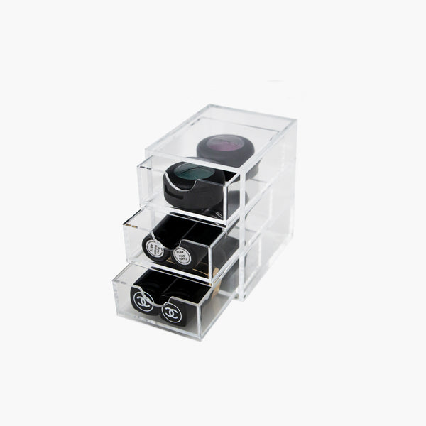 Osco Acrylic 3 Drawer Storage Box A8 A3274