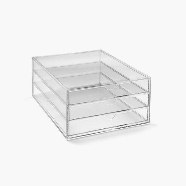 Osco Portrait 3 tier Acrylic Makeup Storage Stackable
