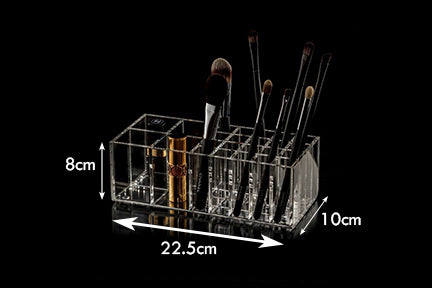 Brushtidy Makeup Brush Organiser Multipurpose 24-SECTION