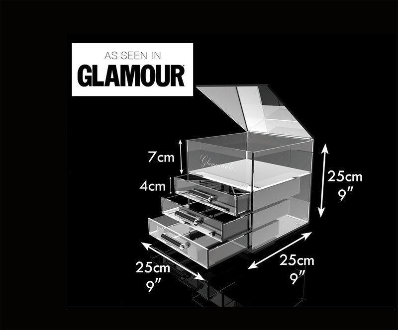 Glamourcube® Compact With Rounded Handles