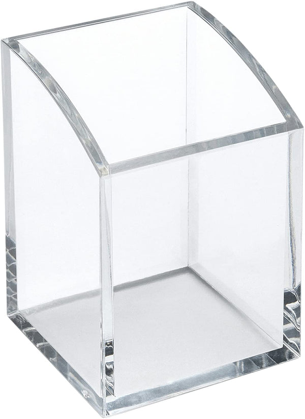 Square Clear Acrylic Pen Pot