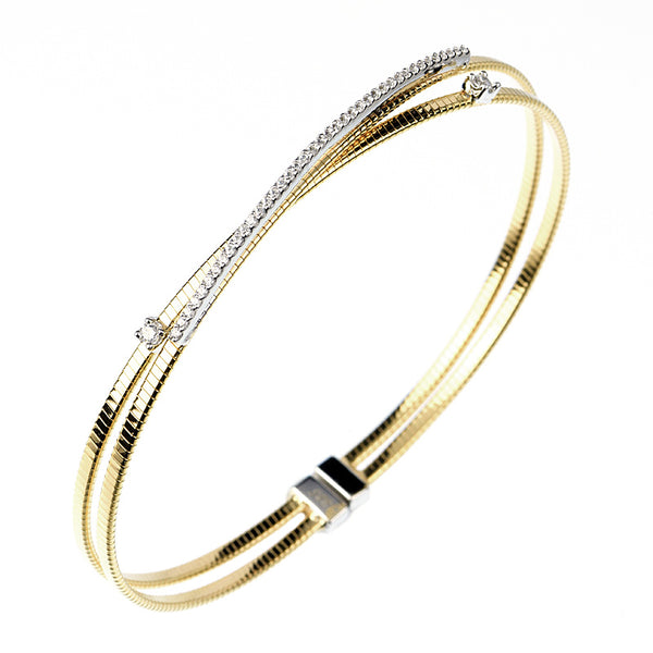 14kt gold plated Yellow  fashion bangle