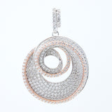 A gorgeous 14kt gold plated fashion pendant