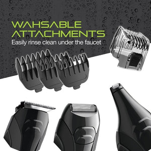 Remington All-In-One Lithium Powered 8 Piece Grooming Kit