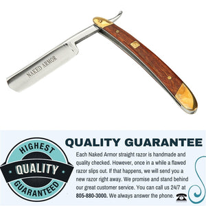 Japanese Steel Straight Razor by Naked Armor