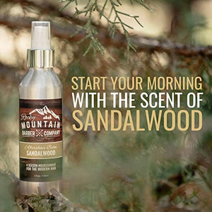 Sandalwood Scented Aftershave Balm by the Rocky Mountain Barber Company - 5 oz.