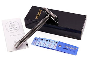 WEISHI Long Handle Double Edge Safety Razor