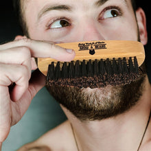 Load image into Gallery viewer, Badger Hair Beard Brush