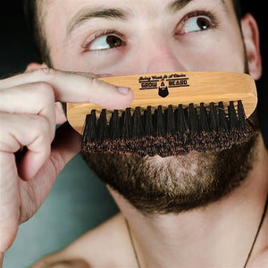 Badger Hair Beard Brush