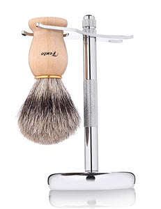 Chrome Brush Stand