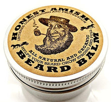 Load image into Gallery viewer, Honest Amish Beard Balm Organic and All Natural
